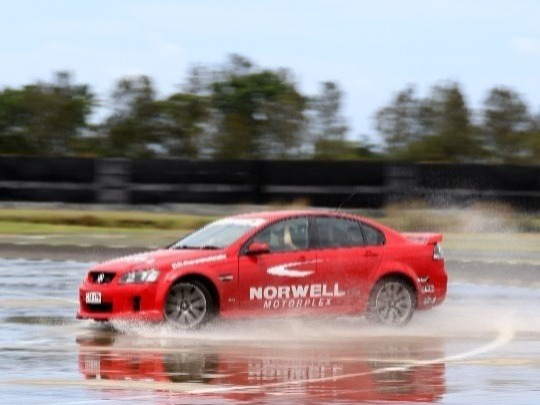 Ever wanted to learn how to drift! Ever wanted to play on a wet skidpan?