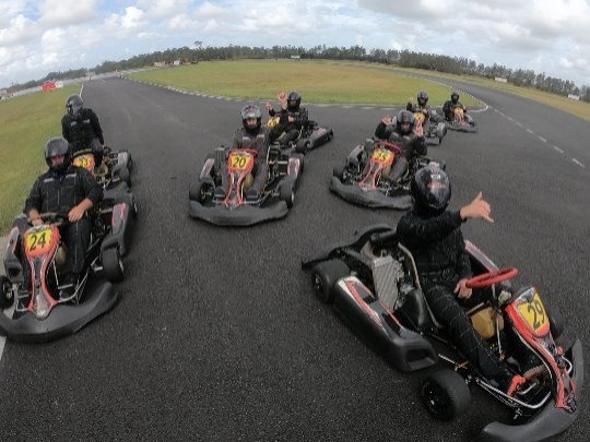 Bring your own Kart. Start time 9am to 12pm. 